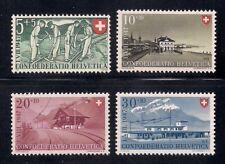 Swiss  1947  Sc # B162-65  MNH  (3-3458)