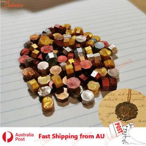 100pcs Colour Sealing Wax Mix Metallic Stick Beads Stamp Seal Candle Envelope
