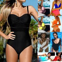 Women One Piece Monokini Bikini Push Up Beach Swimsuit Swimwear Bathing Suit