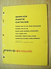 Original New Holland Ford 134 Cid Gas 172 Cid Diesel Parts Catalog Manual