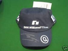 RARE SIGNED NICK HEIDFELD BMW F1 BASEBALL CAP