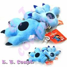 Disney Stitch couple glove plush pendant keychain