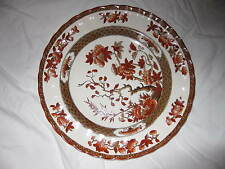Spode Indian Tree Lunch Plate in Orange Rust