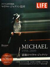 """MICHAEL JACKSON 1958-2009 PHOTO BOOK""w/ OBI LIFE JAPAN"