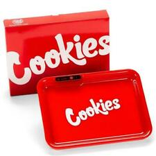 Cookies Tray Rechargeable Glow in Dark Light up Tray LED - RED