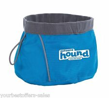 Outward Hound Portable Folding Dog Food Container Pet Food Bowl Pet Travel Bowl