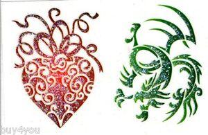 Body Jewelry Tattoo Sticker Glitter Self-Adhesive Bodyart Body
