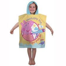Articles de maison coton à Peppa Pig pour le monde de l'enfant