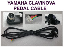 Yamaha  sustain Pedal Cable for Clavinova models circular mini Din type plug