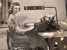 Vtg 40s National Cash Register Co Dayton OH Business Machine Promo Photo 11x14-2