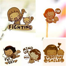 10Pcs Korea Cartoon Anti-radiation Gold-plated Mobile Phone Camera Stickers