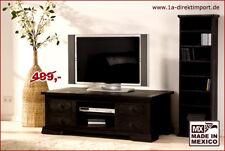 TV Tisch Lowboard Kommode, MEXICO KOLONIAL, Pinie massiv, Kolonialstil Möbel