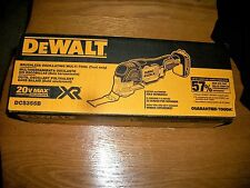 DEWALT DCS355B 20V MAX XR Li-Ion Brushless Oscillating Multi-Tool NEW SHIPPED*
