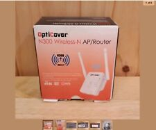 OptiCover N300 Wireless-N Ap/Router. Boost Your Internet Signal.