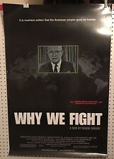 Original Movie Poster For Why We Fight Single Sided 27x40