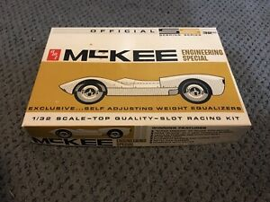 Vintage McKee Slot Car Box Cover