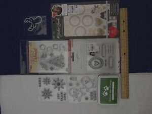 Mixed Lot of Paper Crafting Supplies/SSS Ink, SMS Glistening Tree, + More