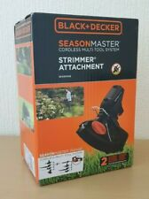 BLACK+DECKER BCASST91B SEASONMASTER 30 cm Strimmer Attachment Black + Decker