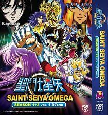 DVD Japan Anime Saint Seiya OMEGA Complete Season 1+2 (1-97 End) English Sub NEW