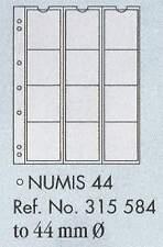 Numismatica moneta pagine - numismatica 44. 5 fogli & bianco interleaving