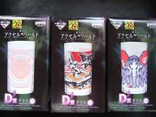 Accel World Japanese Glass Cup 3 All Complete Ichiban kuji Japan Anime Rare !