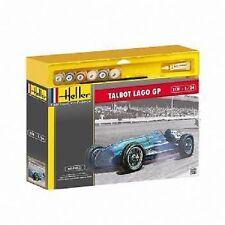 Heller 1/24 SCALE MODEL KIT Talbot Lago GP HEL50721G paints & brush gift set