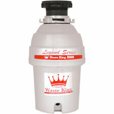 Garbage Disposer 1.0-hp Continuous Feed - L-8000 Waste King Legend Series