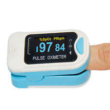 OLED Finger Pulse Oximeter Blood Oxygen SpO2 PR Heart Rate Monitor Pouch&Lanyard