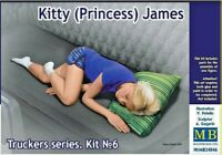 Master Box 24046 Kitty (Princess) James Truckers series 1:24 scale plastic model