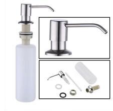 Stainless Steel Kitchen Sink Soap Dispenser Built in Hand Soap Dispenser Pump
