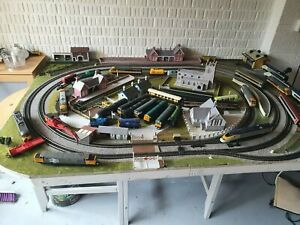 oo gauge layout 6ft x 4ft  2 track