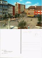 Ansichtskarte Düren Marktplatz mit Mariensäule und Blick zum Rathaus 1975