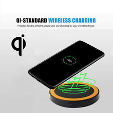 Qi Wireless Power Charger Charging Pad For Samsung Galaxy S8/S8 Plus  K