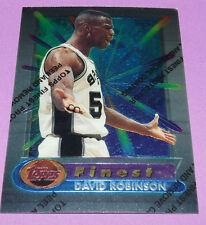 DAVID ROBINSON C SAN ANTONIO SPURS FINEST TOPPS 1995 NBA BASKETBALL CARD