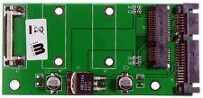 """M-ware® Mini PCIe 52pin Msata SSD zu 6,4cm (2,5"""") Notebook SATA Festplatte HDD A"""