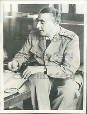 Governor General Pierre Boisson of France Press Photo
