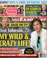 NATIONAL EXAMINER March 1 2021 Don Johnson Christopher Plummer Pam Anderson