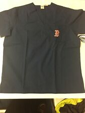 Boston Red Sox Concepts Sport Unisex Scrub Top - Navy Blue Small NWT