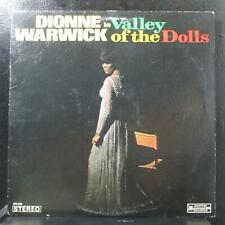 Dionne Warwick - Valley Of The Dolls Lp Vg+ Scepter Records Sps 568 Usa 1968