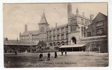 LANCASHIRE, MANCHESTER, CHETHAM'S COLLEGE, 1905