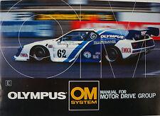 Olympus OM-System-Manual for Motor Drive Group-MANUALE DI ISTRUZIONI-b2465
