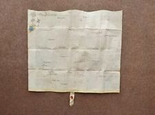 More details for 1695 ansley warwickshire 17th century william 3rd vellum deed document indenture