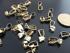 20 Enganches para colgante DORADOS (BASE-23D) collar collares union union collar