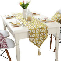 Home Table Runner Fashion Geometric Dining Room Party Decor Tablecloth Bed Cover