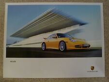 2003 Porsche 911 GT3 Showroom Advertising Saless Poster RARE Awesome L@@K