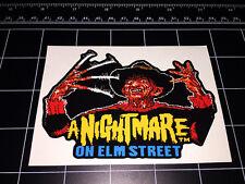 A Nightmare On Elm Street Freddy Krueger video game sprite decal sticker NES