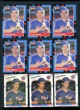 1988 Donruss, Fleer, Score Gregg Jefferies Rookie Lot (12 cards)