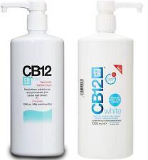 CB12 Oral Rinse Mouthwash Scientifically Proven Safe & Effective 1000ml 1 Litre