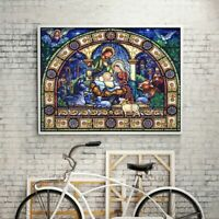 5D Special Shaped Diamond Painting Embroidery Crystal Cross Craft Stitch Kit DIY