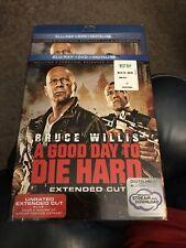 A Good Way To Die Hard (Blu-ray+Dvd+Digital) Original Plastic & Sleeve